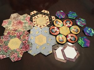 Hexies, flowers, petals, and templates!